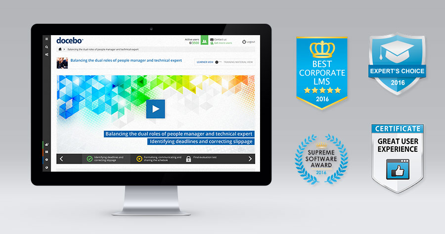 Docebo named Best Corporate LMS for 2016