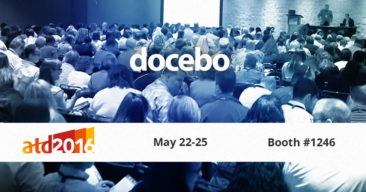 Visit Docebo at ATD 2016 and get special conference pricing