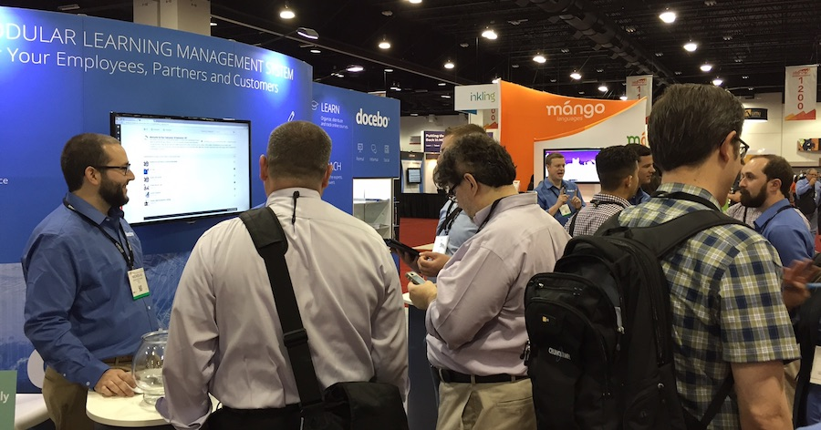 ATD 2016: Visit Docebo to see the latest in online training software
