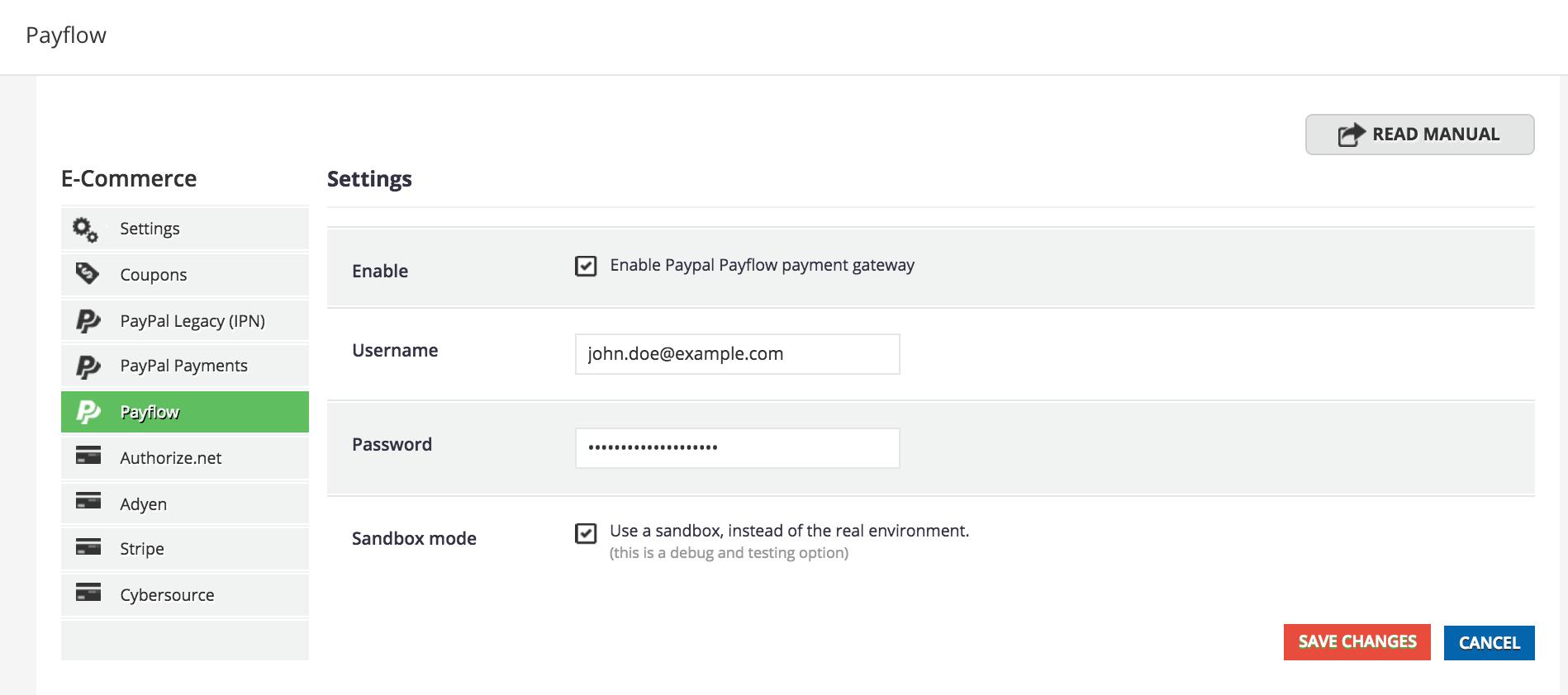 paypal payflow