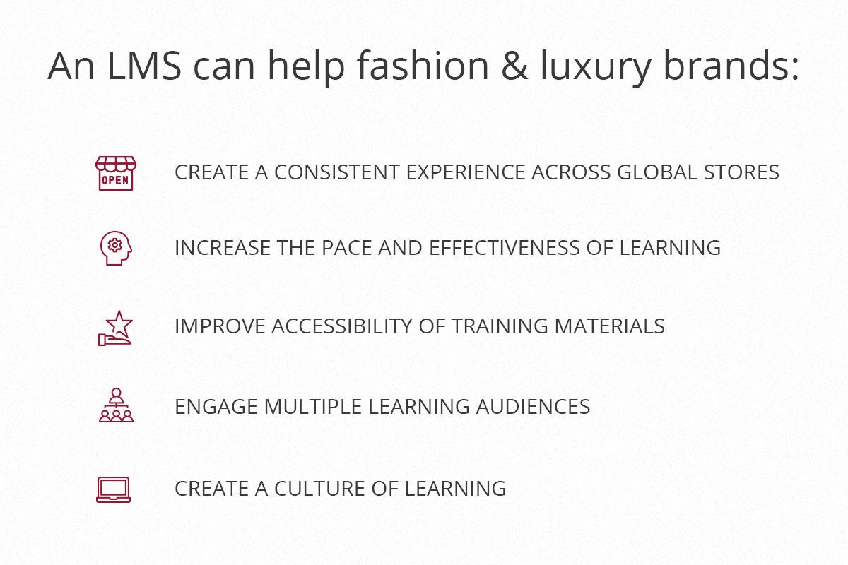 Fashion & Luxury LMS
