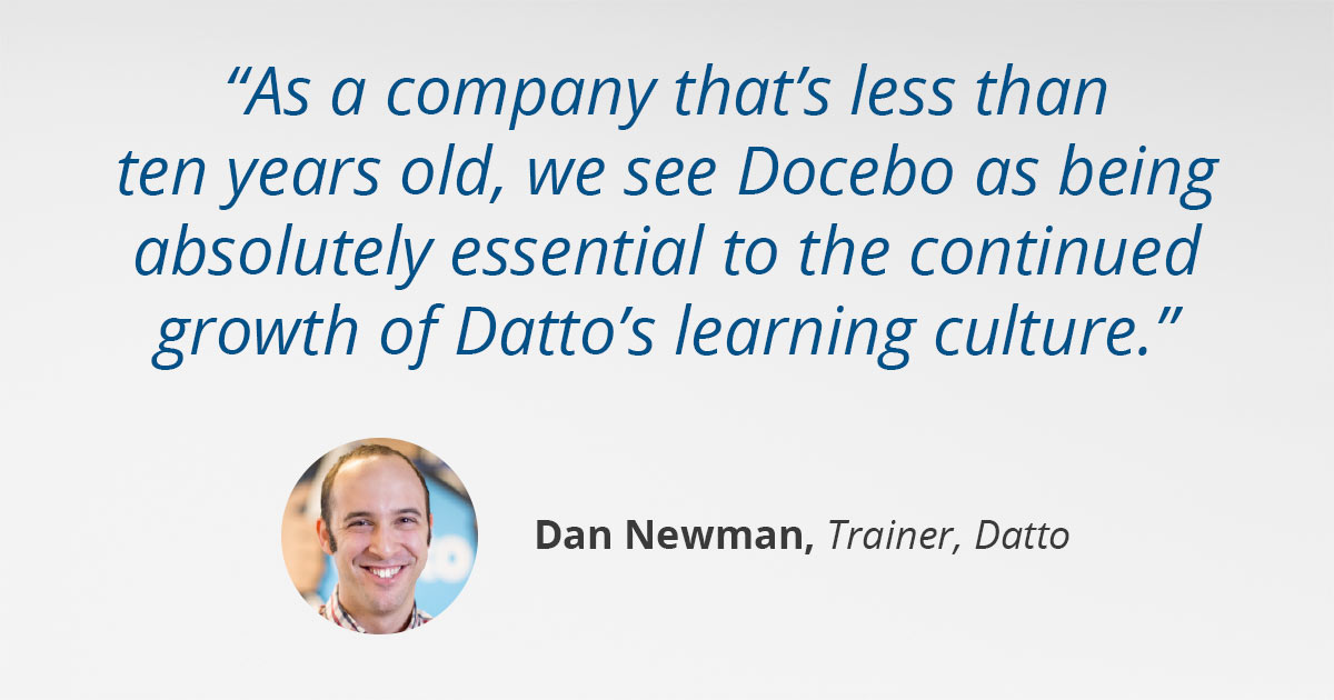 Datto Learning Culture