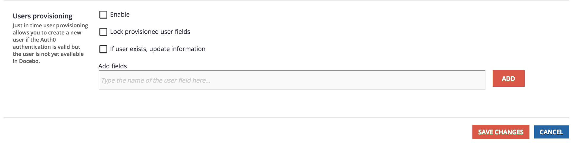 auth0 user provisioning