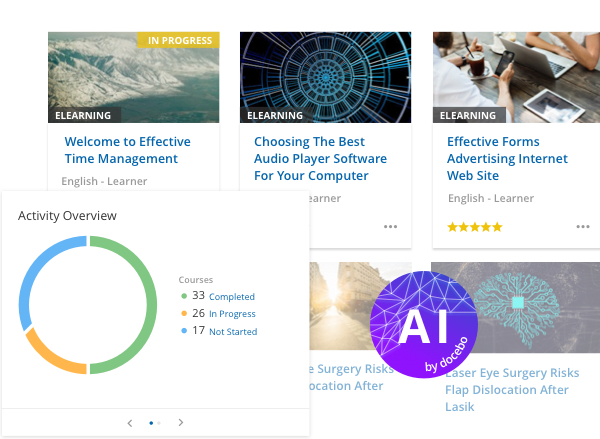 Docebo Learn (LMS) - AI Learning Platform