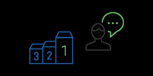Tagga le migliori risposte - Piattaforma eLearning Docebo