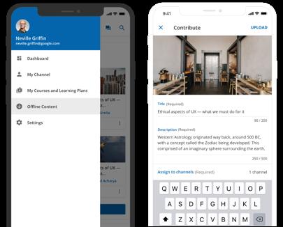 Personalice su app de aprendizaje móvil