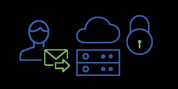 Los correos electrónicos enviados desde su plataforma son de confianza para su servidor de correo electrónico