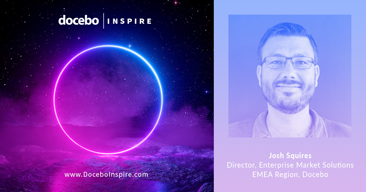 Josh Squires, speaker at DoceboInspire 2019