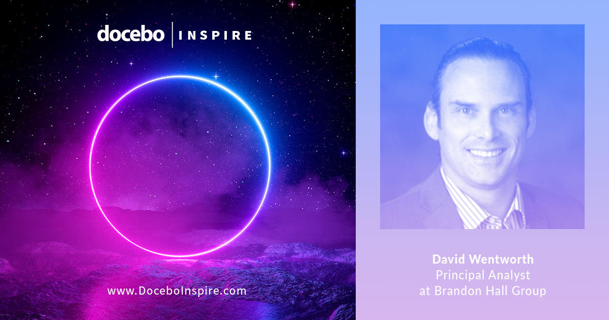 David Wentworth at DoceboInspire 2019