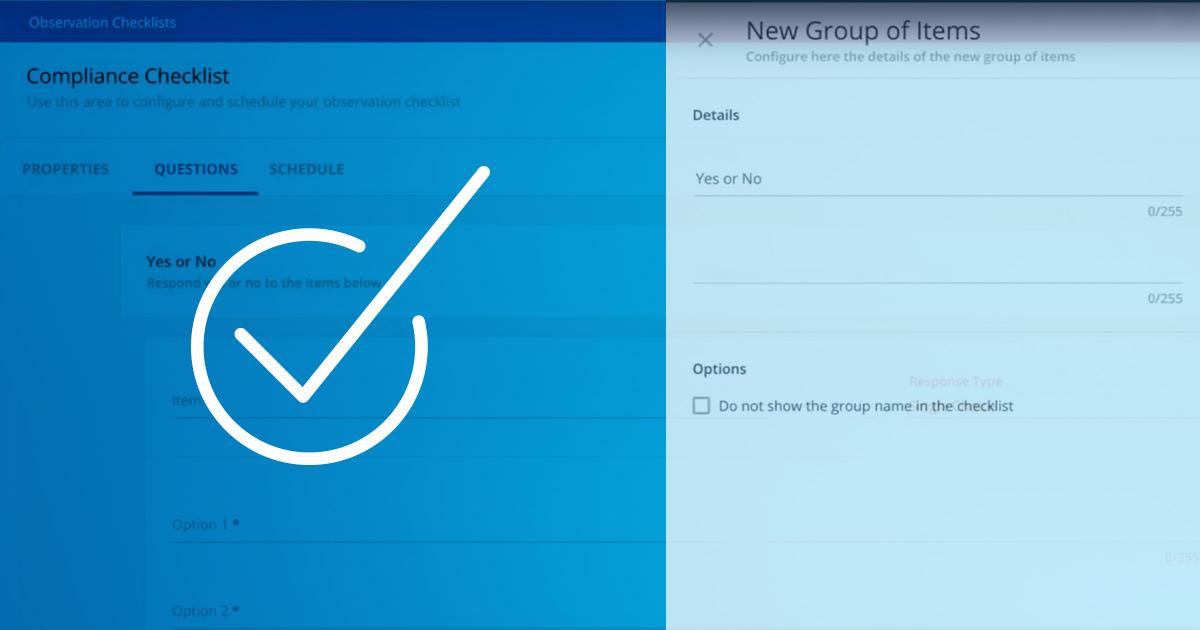 Le Checklist di Osservazione consentono agli amministratori di monitorare e registrare i progressi degli utenti, i processi di conformità o altre attività lavorative.