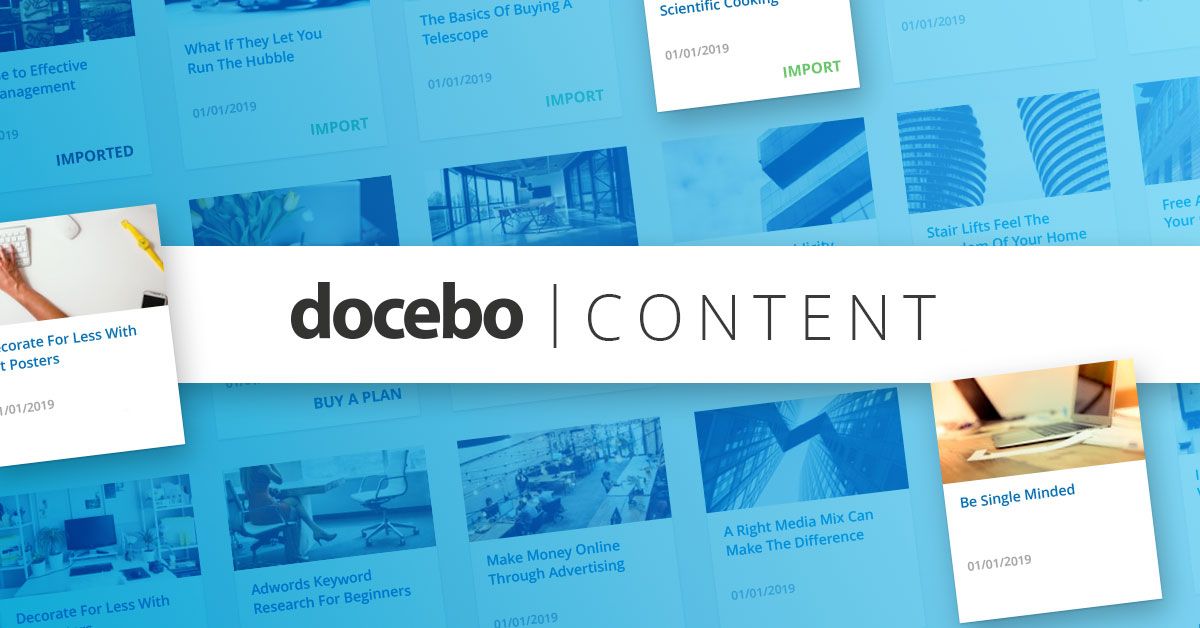 Docebo Content
