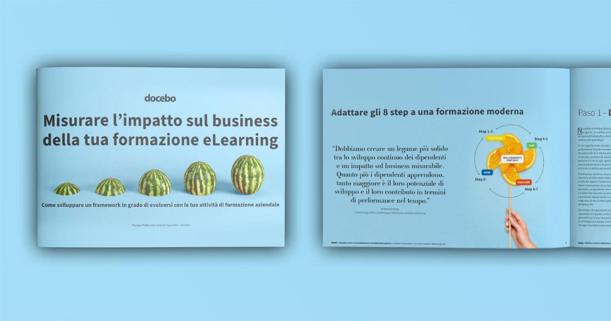 Report - Misurare l'impatto sul business della tua formazione eLearning