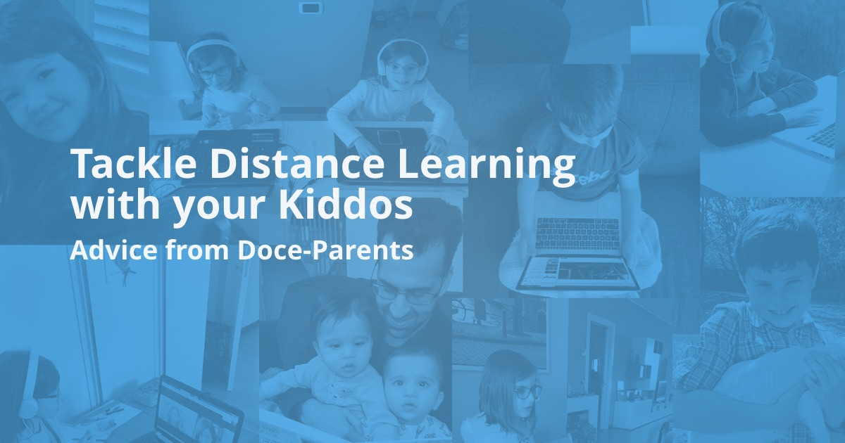 How Docebo parents are engaging their kids via online learning & e-learning during COVID-19