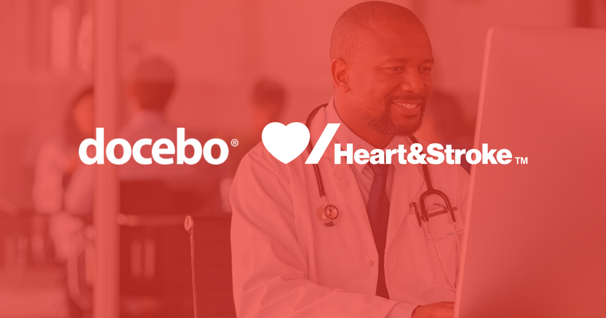 Docebo Learning Platform for Heart & Stroke during COVID-19