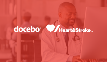 Docebo Learning Platform for Heart & Stroke during COVID-19