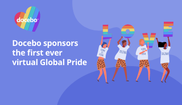 Docebo sponsors the first ever virtual Global Pride