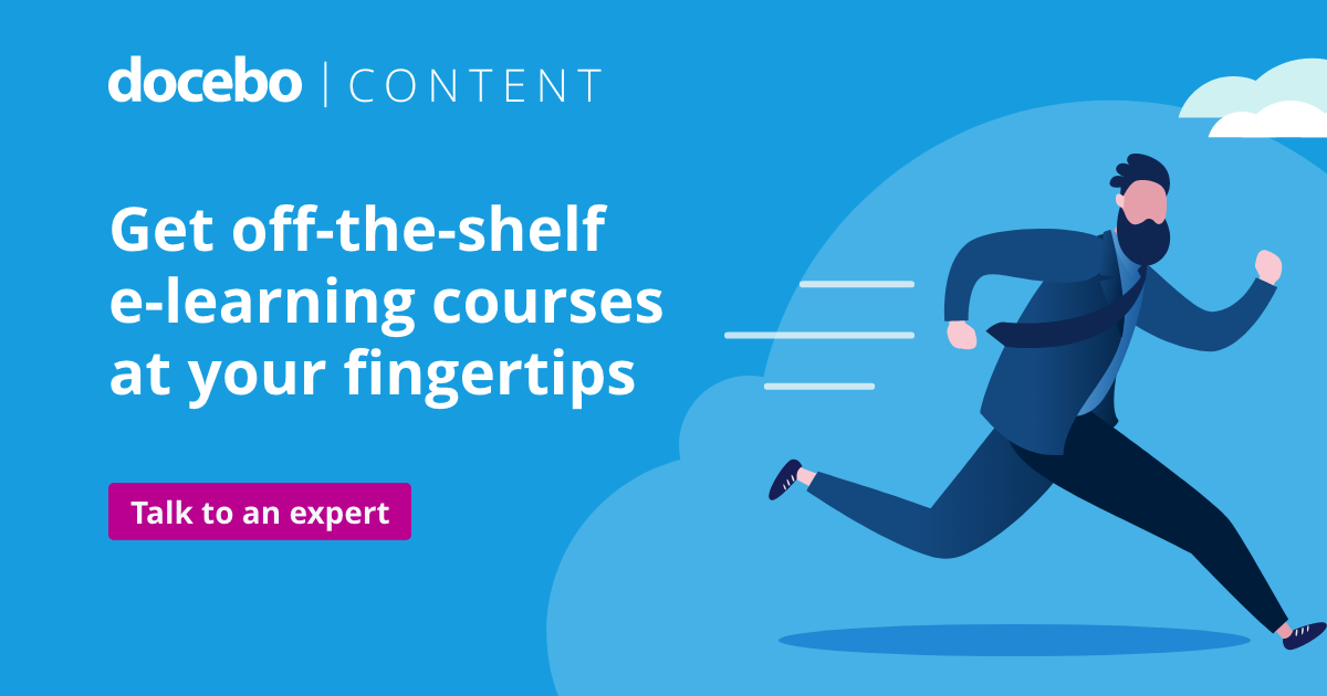 Off-the-shelf, industry-specific: E-learning courses done right!