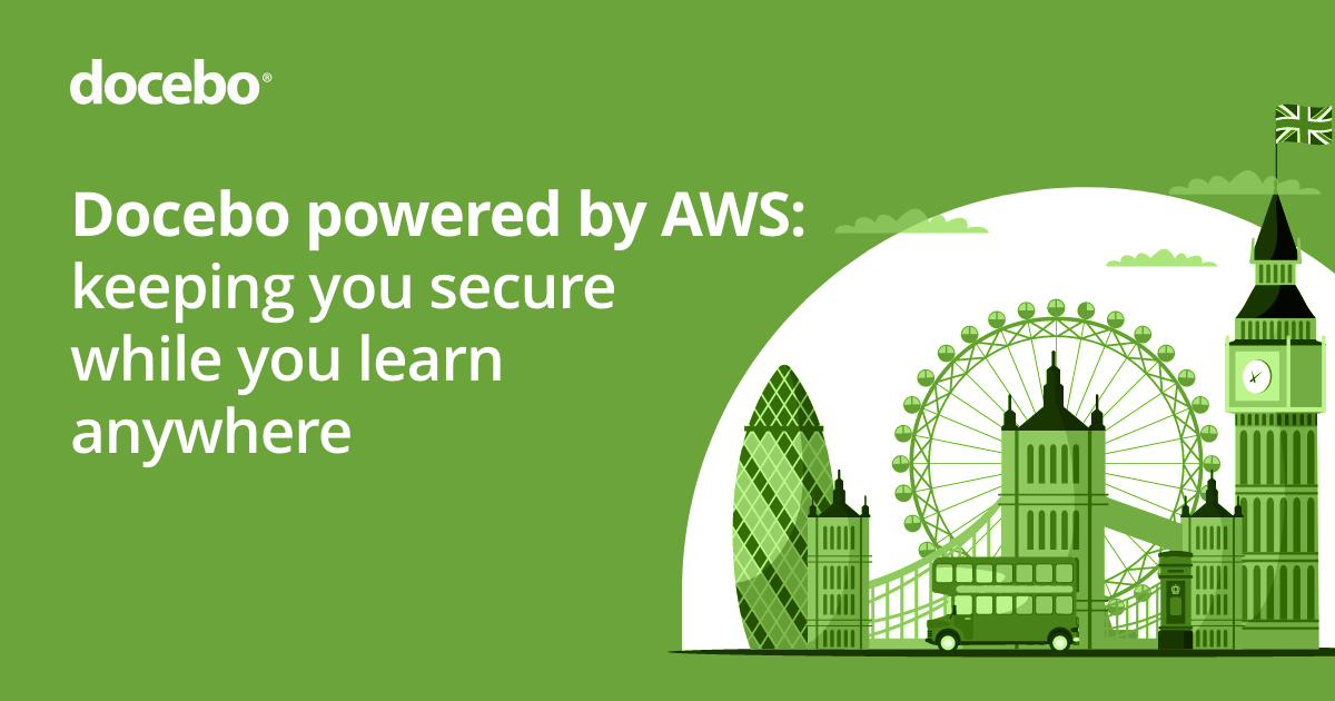 Cloud LMS on AWS Region London - Benefits, Security & Privacy